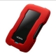 USB HDD ADATA HD330 2TB USB 3.1 Durable Crno/Crveni